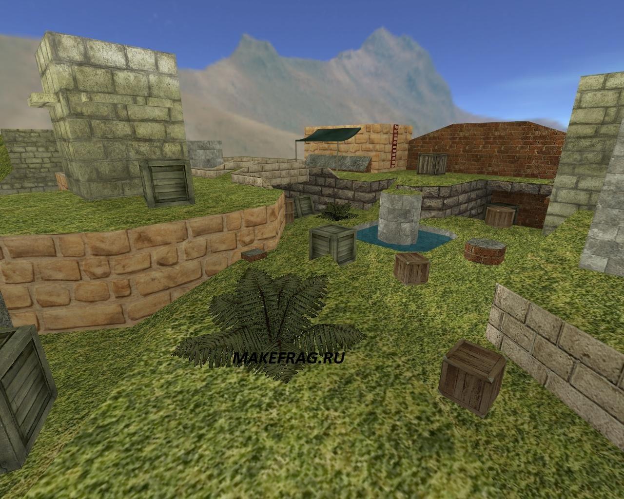 Карта rayish_brick-world