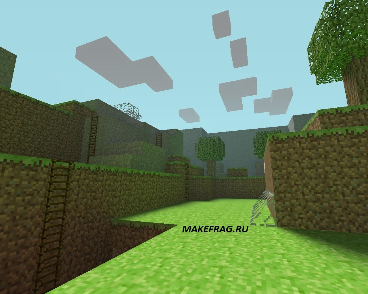 Карта HnS_Minecraft