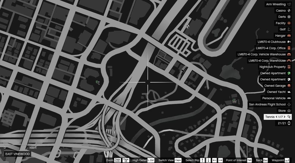 Расположение всех 76 Лофофор в GTA Online